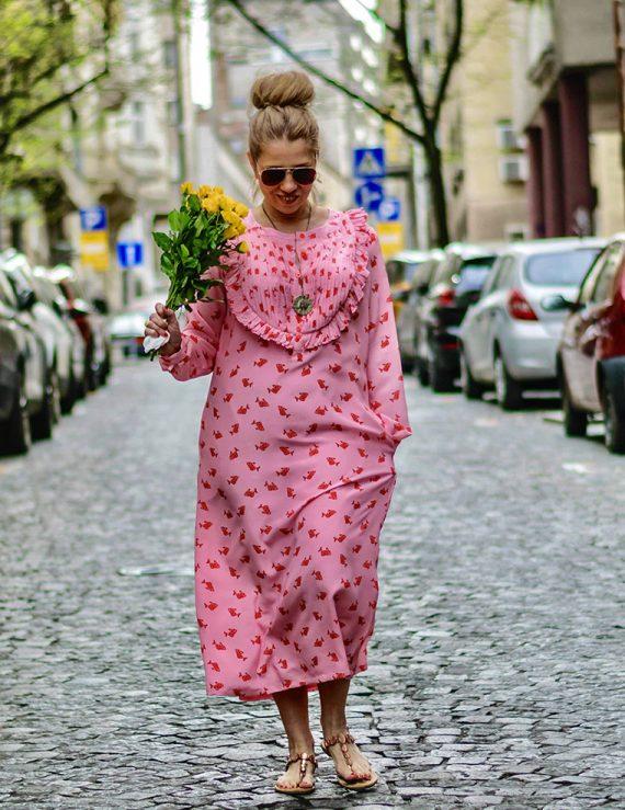 Spring candy dress
